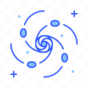 blackhole, dark matter, planet, space, universe icon
