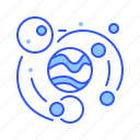 galaxy, orbit, planet, solar system, universe icon