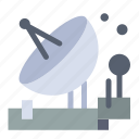 antenna, communication, parabolic, satellite, space icon