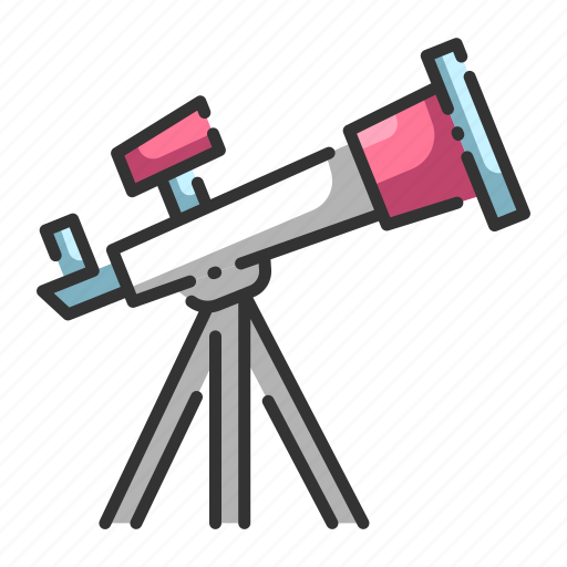 astronomy, observe, science, sky, stars, telescope, watching icon
