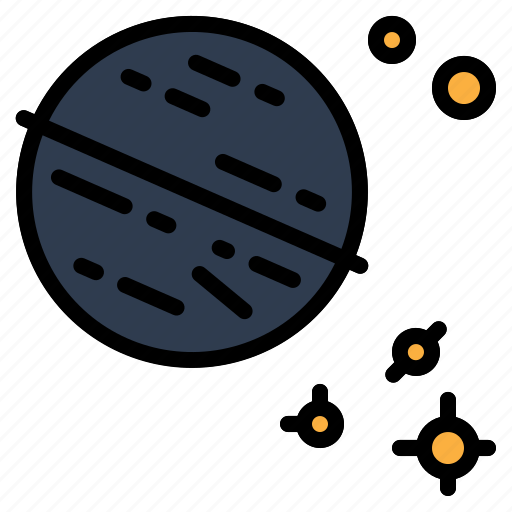 neptune, solar, space, system, universe icon