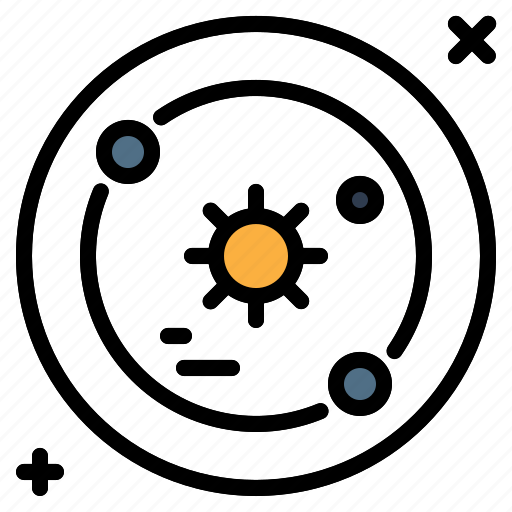 pace, solar, system, universe icon
