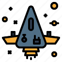 launch, space, spaceship, universe icon