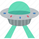 astronaut, space, ufo icon
