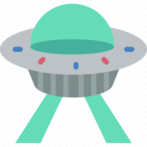 astronaut, space, ufo icon