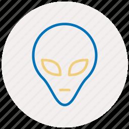 alien, alien icon, space, ufo icon