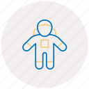 astronaut, male, man, space, spaceman icon