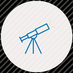 astronomy, cosmo, cosmos, space, telescop, telescope icon