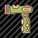 alien, blaster, gun, pistol, shooter, weapon