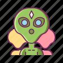 alien group, aliens, creature, few, invasion, monster icon