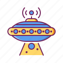 alien, flying, flying saucer, saucer, spaceship, ufo icon