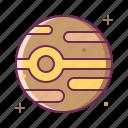 jupiter, planet, space, universe icon