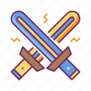 lightsaber, saber, starwars, sword, weapon icon