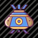 aircraft, capsule, plane, rescue, spaceship icon