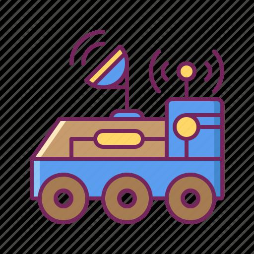 car, moon rover, robot, rover, vehicle icon
