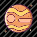 planet, space, universe, venus icon