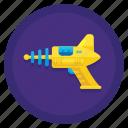 space, gun, weapon, alien icon