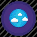 distant, earth, globe, planet icon