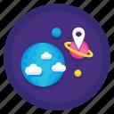 astronomy, exploration, planetary, space icon