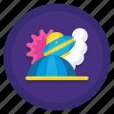 alien, crash, space, ufo icon