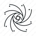 blackhole, dark matter, planet, science, space, swirl icon