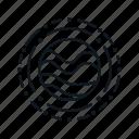 mask, orbit, planet, starlink, stars, universe icon