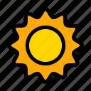 space, star, sun icon