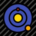 cosmos, solar, space, system icon