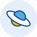 planet, space, ufo, vehicle icon