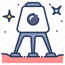 astronomy, capsule, exploration, galaxy, science, space, universe icon