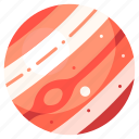 astronomy, galaxy, jupiter, planet, space, system, universe icon