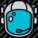 helmet, astronaut, space