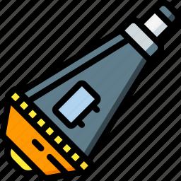 astronaut, landing, module, space icon