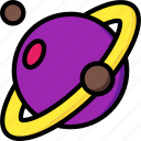 astronaut, saturn, space
