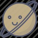 cosmos, globe, planet, saturn, solar, space icon