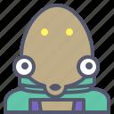 astronaut, interstellar, octopus, space, travel icon