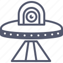 alien, kidnapped, scan, stranger, ufo, visitor icon