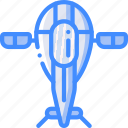 astronaut, fighter, ship, space icon