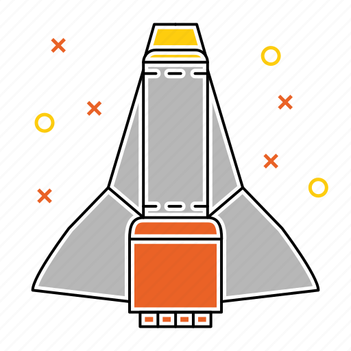 satellite, shuttle, space, spaceship icon