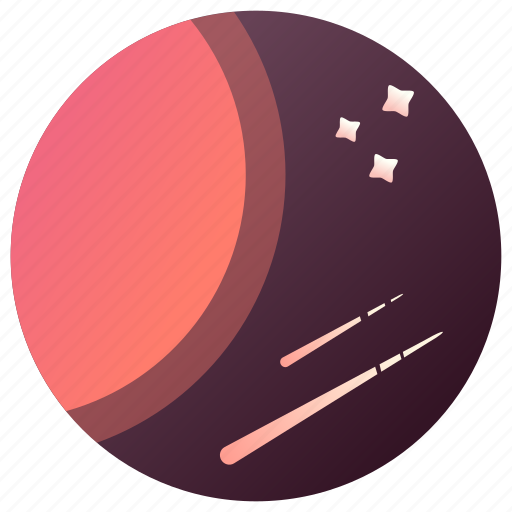 astronomy, comets, planet, space, stars, universe icon