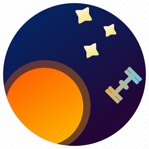 Astronomy, planet, satellite, space, stars, sun, universe icon - Download on Iconfinder