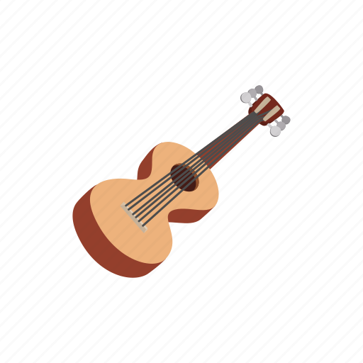 acoustic, cartoon, classical, guitar, instrument, musical, string icon