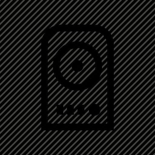 audio, media, music, sound, speaker, stereo, volume icon