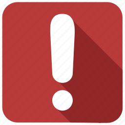 character, exclamation, mark, point, special, urgent, warning icon