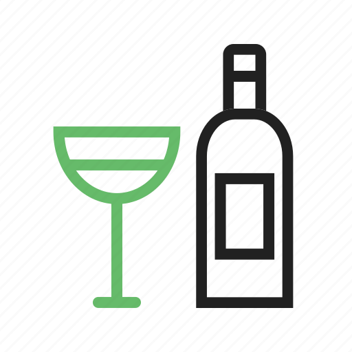 alcohol, champagne, drink, goblet, party, utensils, wine icon