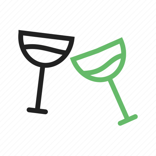 bar, champagne, cocktail, glass, glasses, party, wine icon