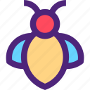 animals, bee, cute, insects, kids, nature, pets icon