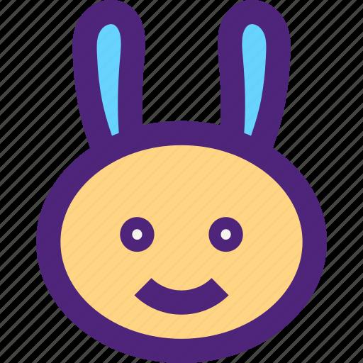 animals, bunny, cute, kids, nature, pets, rabbit icon