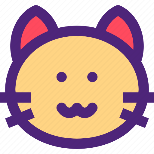 animals, cat, cute, kids, kitty, nature, pets icon