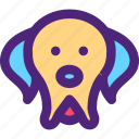 animals, cute, dog, kids, nature, pets, puppy icon